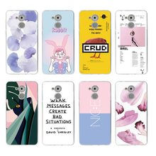 Oil Painting Colorful Petal nice rabbit Soft TPU Phone Case For huawei P10lite P10 plus P8 P9 honor 6A 3C 4c 7 8 9 5a 5c C089(China)