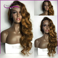 8A Brazilian Human Hair wigs full lace human hair Wigs Glueless Two Tone ombre Boday wave Free Part Lace front human hair Wig