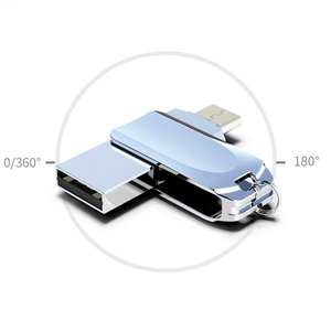 Image 3 - 360 Rotation Pendrive OTG Type C 32GB 16GB 128GB USB Flash Drive Type C For Smart Phone Tablet 64GB Pen Drive For Android Phone