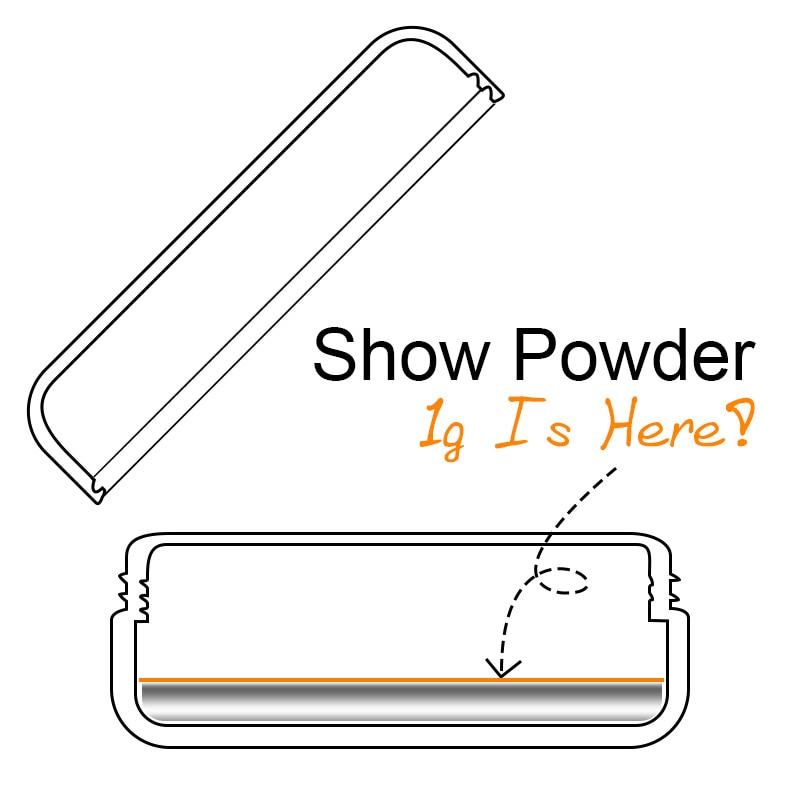 Vrenmol 1g/Box Gold Sliver Nail Glitter Powder Shinning Mirror Eye Shadow Magic Mirror Chrome Metallic for Nail Polish