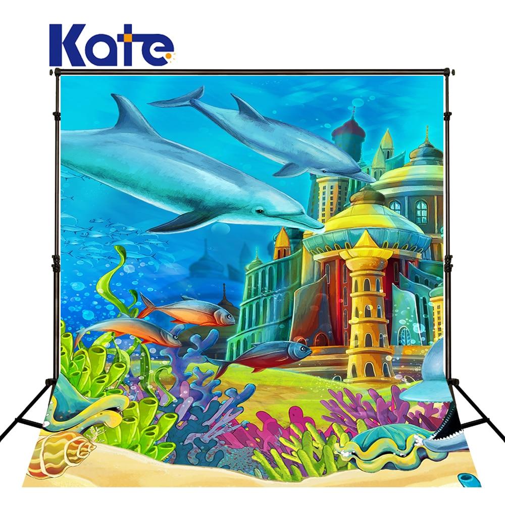 Kate Penteadeira Underwater World For Children Kate Background Backdrop Backgrounds For Photo Studio our kate