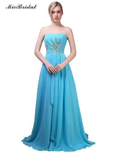 5e2e6e63d MicBridal Largas Elegantes Vestidos de Baile 2016 Vestidos Para Ocasiones  Especiales Vestido de Fiesta Color Turquesa