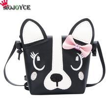 Женская сумка с милой собачкой, Детская сумка для девочек, сумка через плечо, детская кожаная сумка через плечо, Детская сумка-мессенджер, Основная сумка для женщин