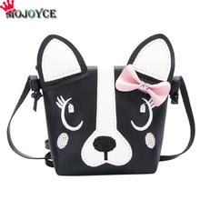 Cute Dog Children Handbag Girl Shoulder Bag Baby PU Leather Crossbody Purse PU Should Bag Kids Girls Fashion Messenger Bags