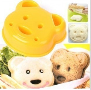 Sweet Princess lolita kitchen Sandwich mould bread mould diy sandwich cute tools cake mould fun for kids food mould bear