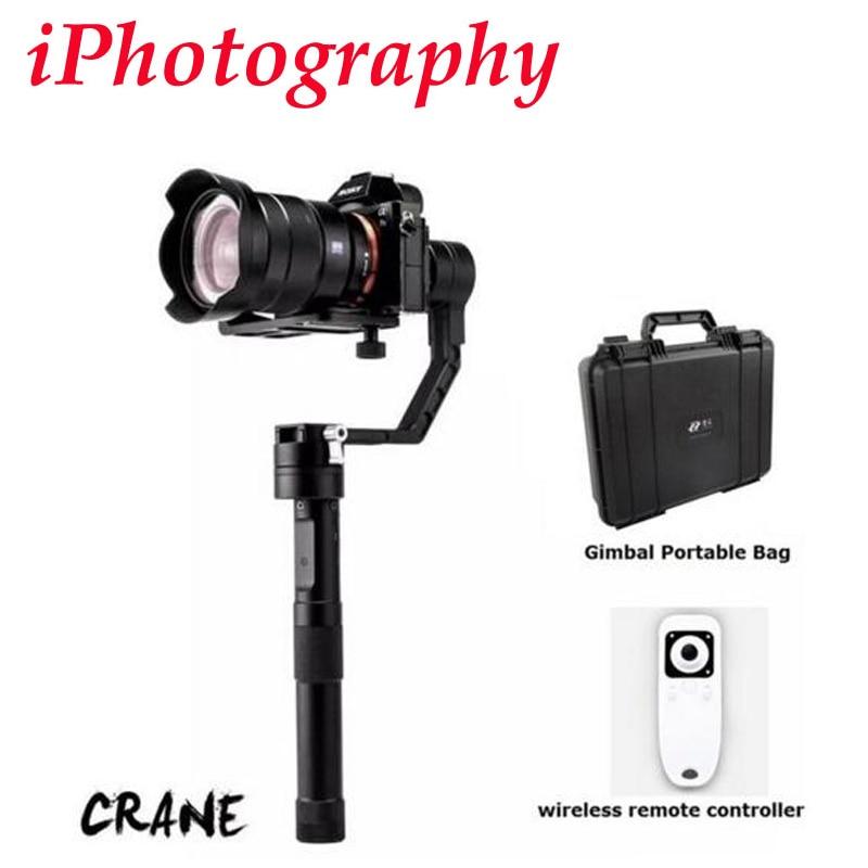 Zhiyun Crane 3-axis Stabilizer Handheld Gimbal for Canon Nikon Sony Panasonic DSLR Camera