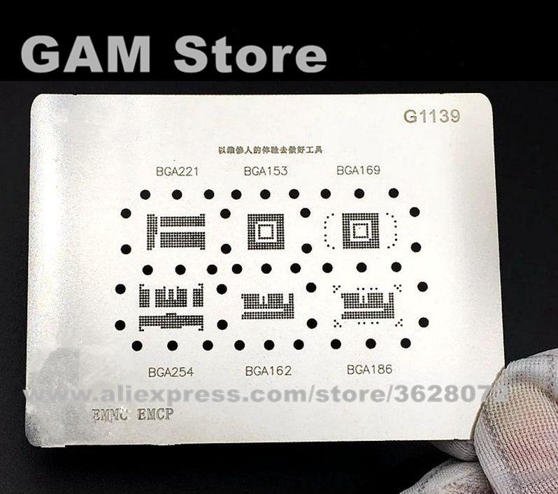Welding & Soldering Supplies Radient 3pcs Universal Bga Stencils For Samsung Htc Huawei Mtk Android Directly Heated Bga Reballing Kit Stencils Ic Chip Reballing Pin