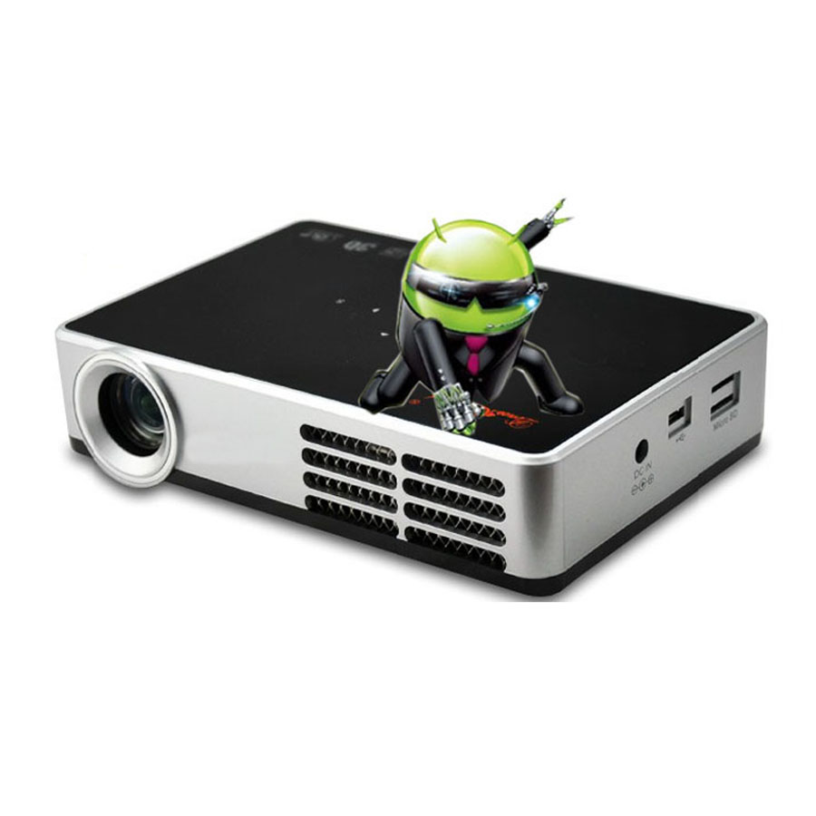 2d to 3d mini short throw dlp portable projector full hd for Miniature projector