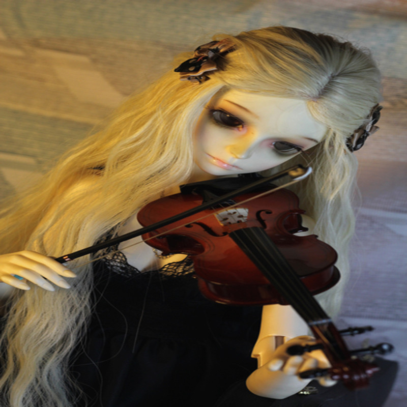 Bjd props sd dd musical instrument sd17 violin triangle set