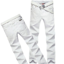 2015 New fashion stretch men's jeans famous brand white slim jeans men high quality casual jean pants trousers