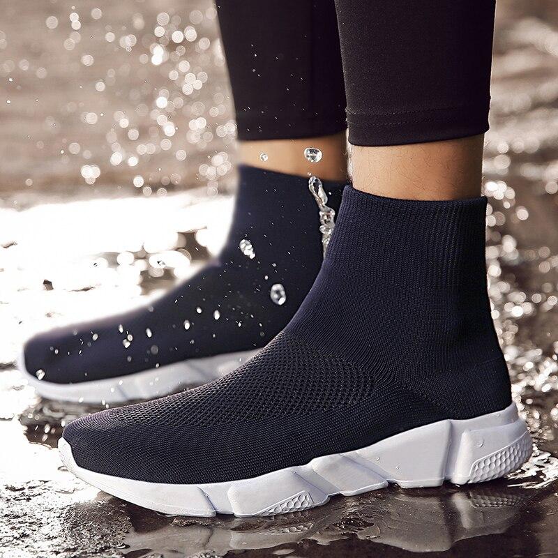Underwear & Sleepwears Reasonable Trend Women Breathable Running Shoes Outdoor Jogging Walking Footwear Lightweight Comfortable Sports Sock Shoes Women Sneakers