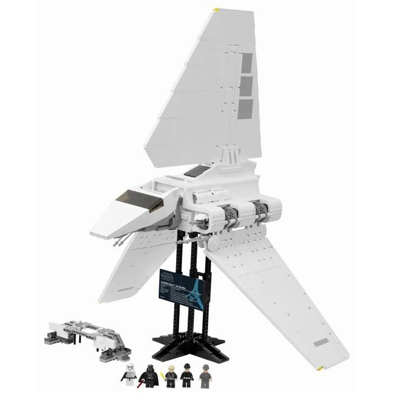 LEPIN 05034 2599pcs Star Series The Imperial Shuttle Model Building Block Diy Brick Educational Toy For children Gift 10212 large block black pearl model ship set 3d block brick plastic diy building blocks gift children compatible educational toy