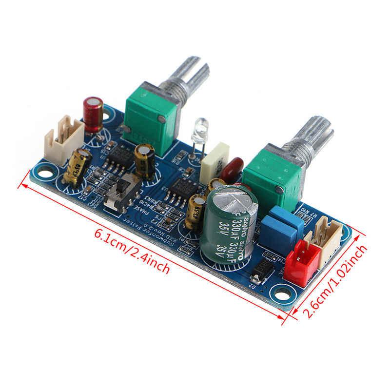Новый DC 9-32 V Одиночный фильтр низких частот сабвуфер Предварительный усилитель платы A7-011