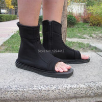 Naruto Cosplay Naruto Costumes Naruto Shoes Konoha Black Blue Cosplay Shoes Ninja Boots Sasuke Kakashi Shoes