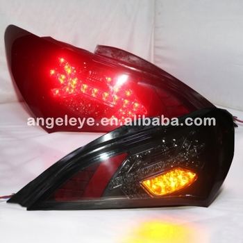 2010-2011 Year For Rohens Coupe LED Tail  lamp  Rear Lights LED Turning light Smoke black SN