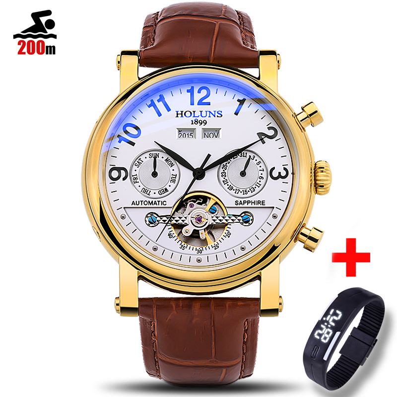 200m Waterproof Mens Watches Top Brand Luxury Automatic 