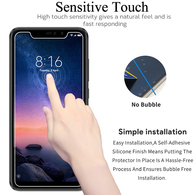 Image 4 - Glass Protective On For Xiaomi Redmi Note 7 6 5 Pro 4 Tempered Glas Note7 Note5 Note4 Ksiomi Xiaomei Xiomi Screen Protector Film-in Phone Screen Protectors from Cellphones & Telecommunications