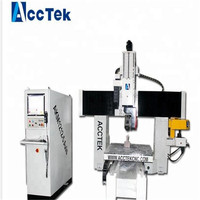 AKM1212 5AXIS (CNC 4 AXIS) mini router table cnc wood carving machine