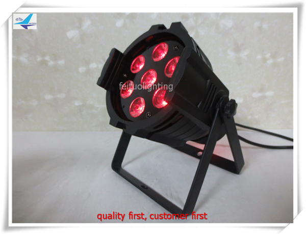 100lot led wash dmx par 64 led 7x18w dmx par64 led par light rgbwa uv light party dmx pro svet light psl led uv 18 dmx