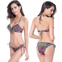 8a8f160c71 Weljuber 2016 Summer Sexy Pure Color Women Tassels Bikini Set Bandage  Swimsuit