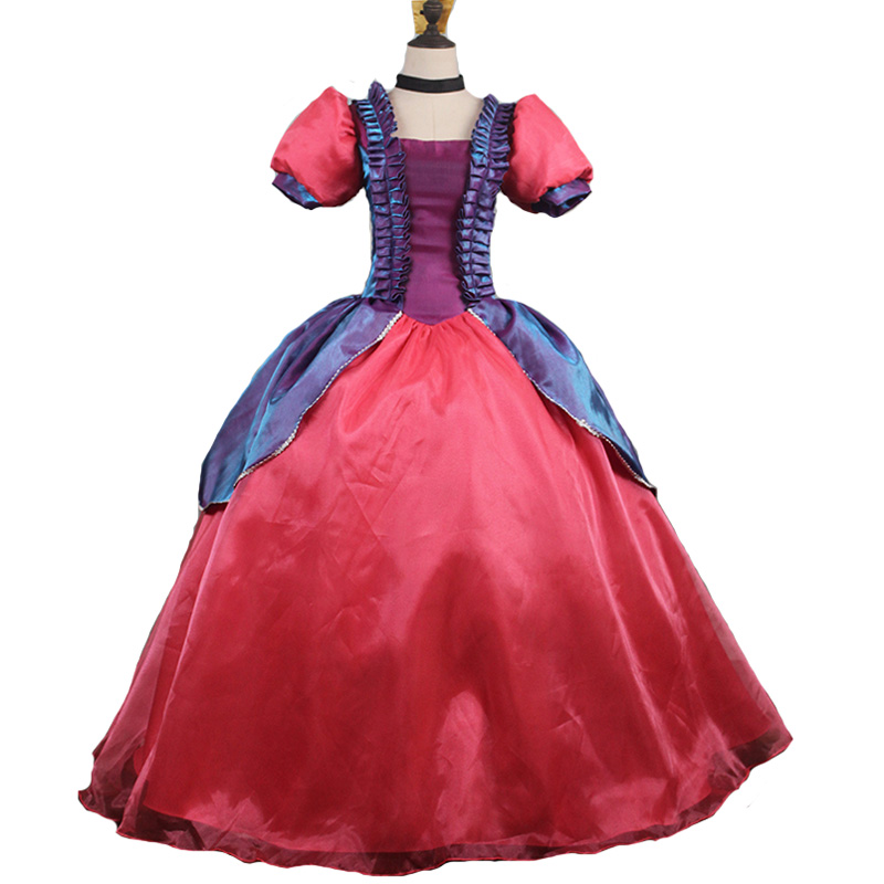 New Arrival Cinderella Sisters For Adult Costumes Anastasia Drizella Cosplay Costume Dress For Women Halloween Party