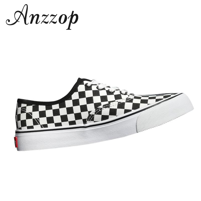 Canvas-Shoes White-Pattern Fashion Ladies Luxury Female Black Large-Size Men's Casual