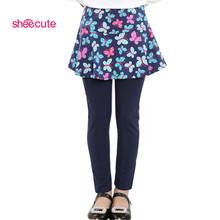 2016 new Arrival Spring Autumn girls leggings Girls Skirt-pants Cake skirt  girl baby pants kids 3-11Y Q2306