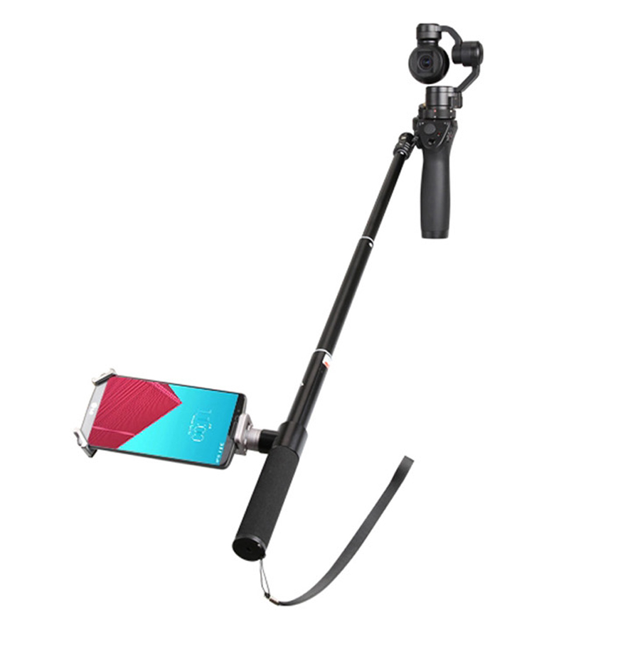 DJI OSMO Extension Pole Rod Scalable Extension Stick for DJI Osmo &DJI Osmo &DJI + OSMO Mobile Handheld Gimbal Accessories 6