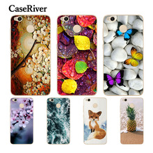 CaseRiver 5.0″ Xiaomi Redmi 4X Case Cover Soft Silicone TPU Printed Drawing Phone Back Protective Case Xiaomi Redmi 4X