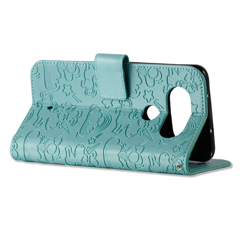 Horse Cloud Flip Cover for LG Q8 Case Coque LG Q6 Cases Wallet Stand Card Slot for LG Q8 / Q6 / Q 6 / Q 8 Cover Smartphone Cases