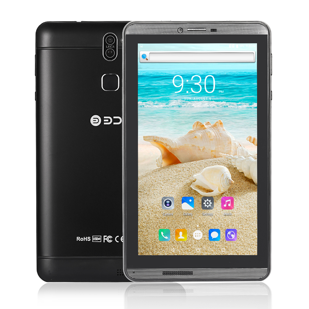 7 Inch Tablet Pc New Design Android 6.0 Quad Core WiFi Bluetooth 3G SIM Phone Call Dual SIM Dual Camera Tablets Metal Shell Tab