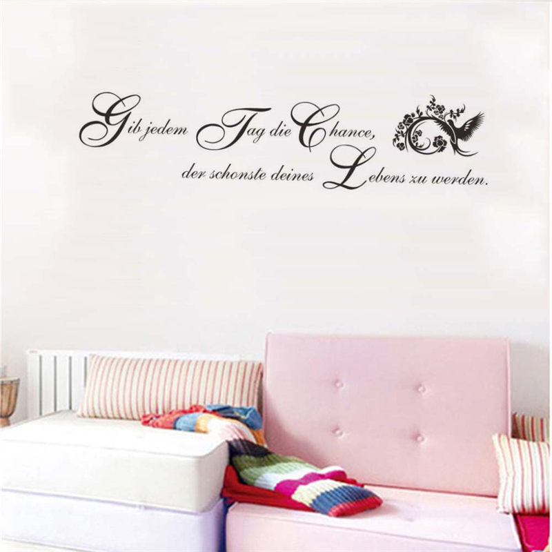 com buy german inspirational quotes wall stickers girls bedroom