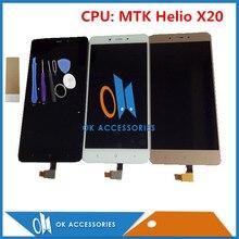 Дешевые Черный, белый цвет золото Цвет Процессор: MTK helio X20 для Xiaomi Hongmi Redmi Note 4 note4 ЖК-дисплей Дисплей + Сенсорный экран с Инструменты Клейкие ленты 1 шт./лот