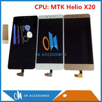 Black White Gold Color For Xiaomi Redmi Note 4 Note4 CPU MTK Helio X20LCD Display Touch