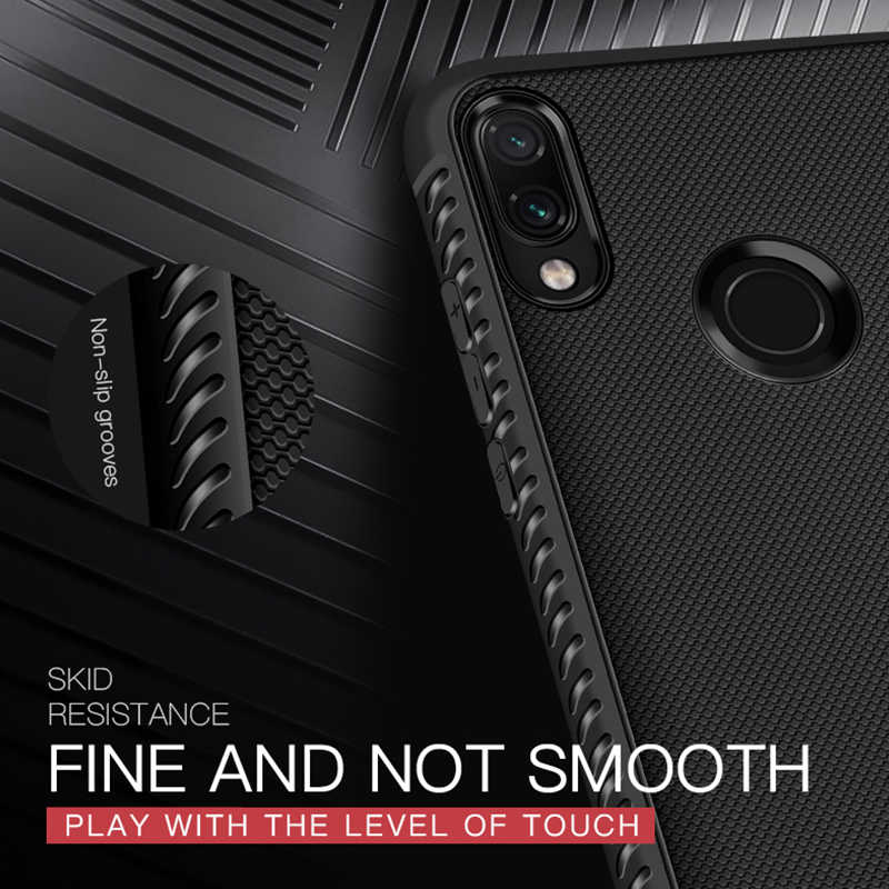 Phone Cases For Xiaomi Redmi Note 7 6 5 Pro 6A 4X Ultra Slim Silicone Soft TPU Cover for Redmi Note 5 6 Shockproof Fundas Shell