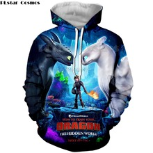 PLstar Cosmos 3D Print New Arrival How to Train Your Dragon Mens Printed shirt Loose Pullover Womens Hoodie&Sweatshirts