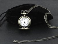Fashion Watch Small Antique Vintage Bronze Quartz Eagle Pocket Watch