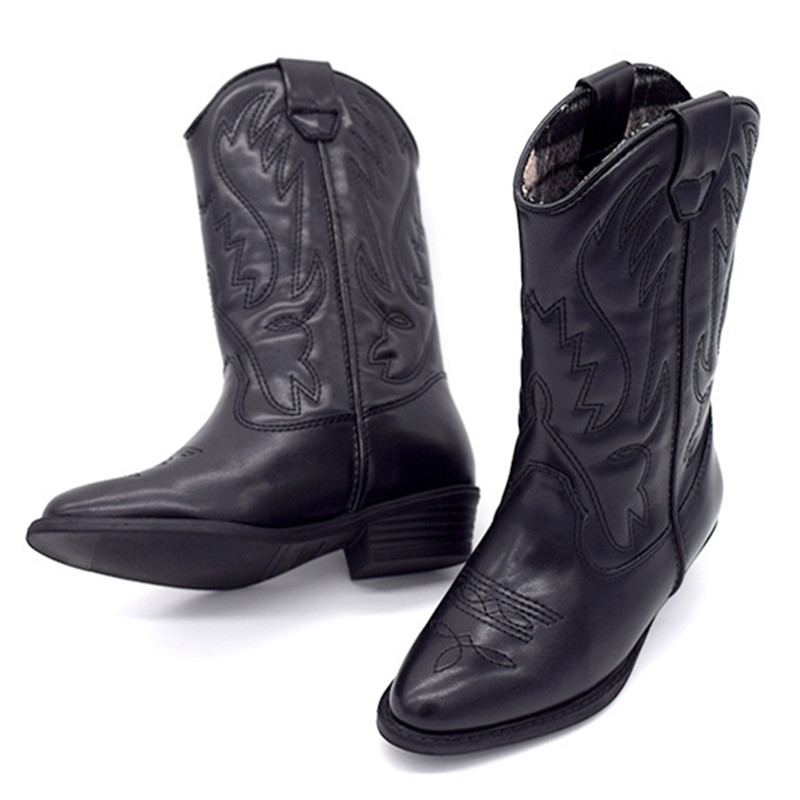 Popular Womens Black Cowboy Boots-Buy Cheap Womens Black Cowboy ...