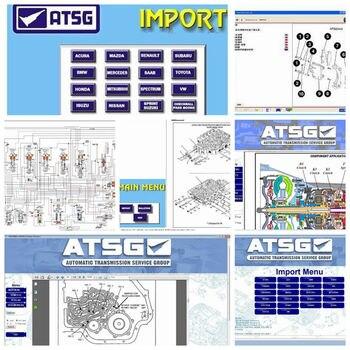 2020 Newest Auto Diagnostic Software ATSG transmission repair manuals auto repair software atsg in 80gb hdd harddisk usb3.0 CD