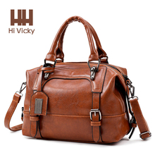 Купить с кэшбэком 2018 Summer Arrivel Women Handbags Luxury 100% Genuine Leather Tote Large Capacity Vintage Briefcase Portable Lady Handbag Top