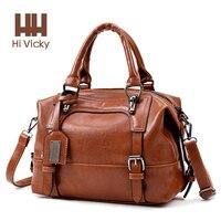 2018 Summer Arrivel Women Handbags Luxury 100% Genuine Leather Tote Large Capacity Vintage Briefcase Portable Lady Handbag Top