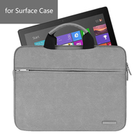 Case For Surface Pro 4 Cover BESTCHOI Solid Matte Leather Waterproof Tablet Laptop Bag For Microsoft