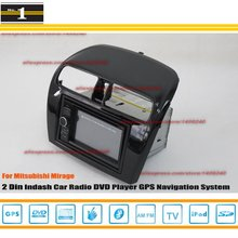 For Mitsubishi Mirage 2012~2014 – Car Radio Stereo CD DVD Player / HD Touch Screen Audio Video GPS Navigation System
