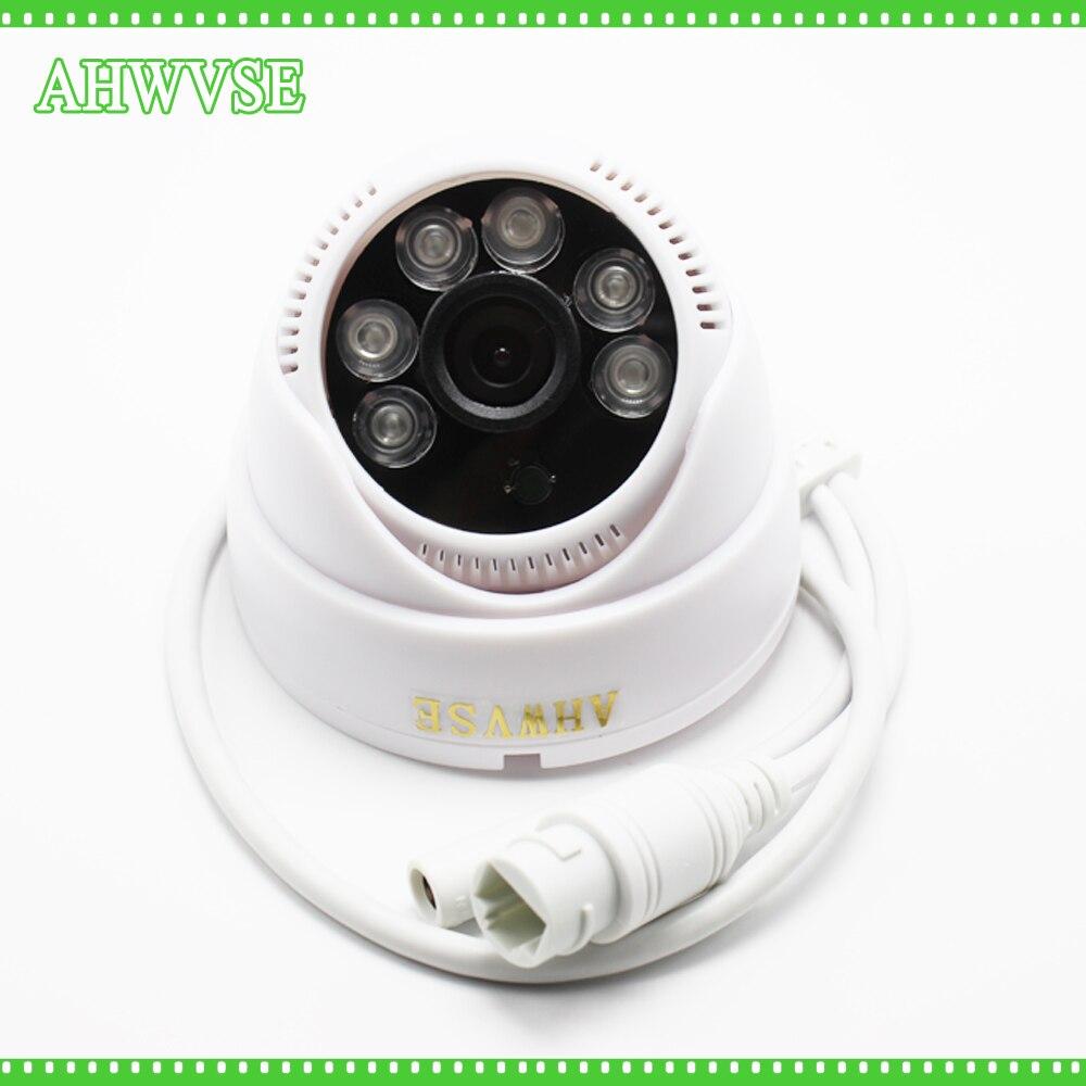 AHWVSE HD 1080P POE IP Camera IR-CUT Infrared CCTV Camera Mini IR Dome Camera Indoor mini dome 720p hd cctv ir cut infrared p2p onvif waterproof outdoor ip camera poe flat mounted cameras for car