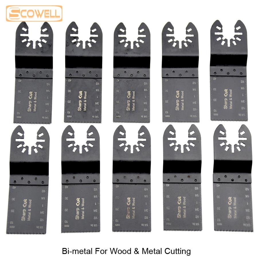 30% nuolaida Bi-metalo 34 mm universaliųjų svyravimo įrankių - Ašmenys pjūklams - Nuotrauka 4