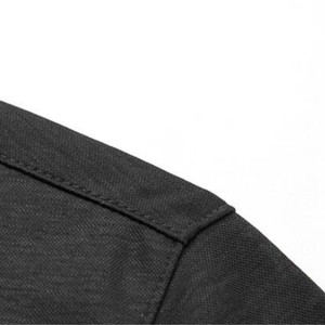 Image 4 - 2019 חדש בכיר קיץ מותג חולצה גברים עסקים קצר שרוול חולצה רופף דק כותנה חולצה זכר אופנה מוצק צבע מגמה tees