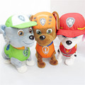 24cm Dog Doll Electronic Pet Baby Electric Plush Toy Action Figure Patrulla Canina Dog Toys Canine Patrol Brinquedos Free Shippi