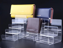 цены Free shipping Wallet display stand Acrylic purse display rack watch glasses cigarette phone Cosmetic holder showing stand