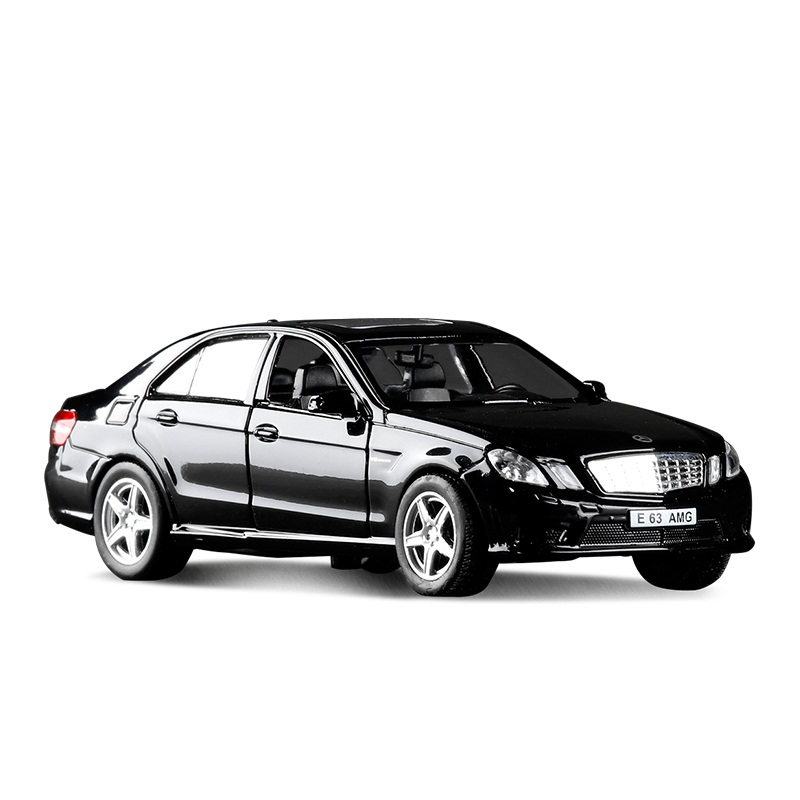 High Simulation Exquisite Diecasts&Toy Vehicles: RMZ City Car Styling E63 AMG Limousine 1:36 Alloy Diecast Model Pull Back Cars