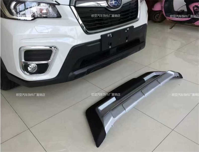For SUBARU Forester 2018 2019 BUMPER GUARD Front & Rear